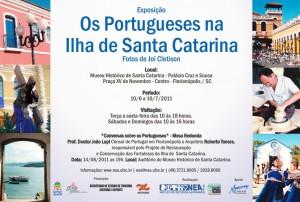 Convite exposição Os Portugueses